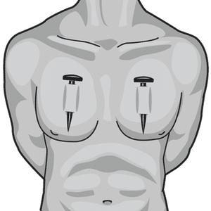 Das Deep Chest Piercing