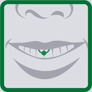 Lippenbandpiercing