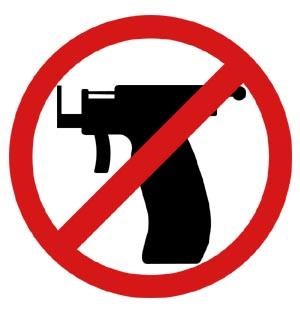 Ohrloch Pistole
